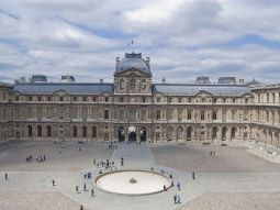 facts about the louvre